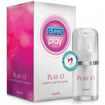 Gel bôi trơn kích thích nữ tăng khoái cảm Durex play O