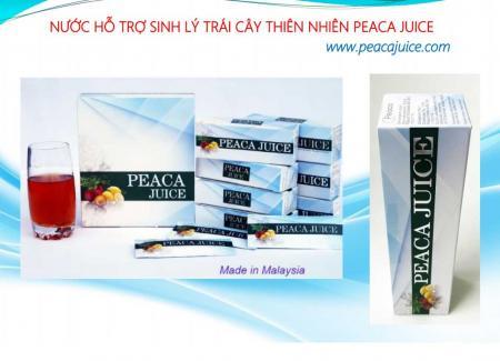 Công dụng và cách dùng của Peaca Juice chính hãng
