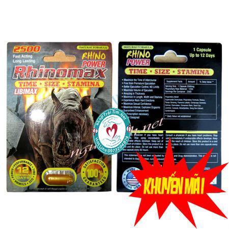 Cường dương thảo dược Rhinomax cao cấp