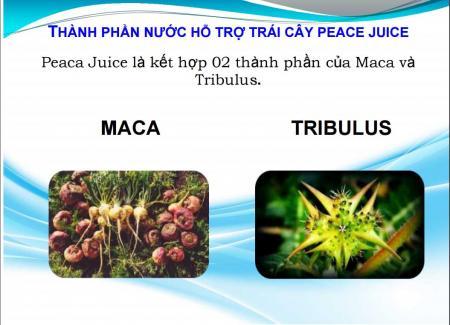 Nước tăng cường sinh lý Peaca Juice chiết xuất 100% từ thảo dược hàng hiệu