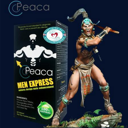 Tăng sinh lý Peaca Men Express cao cấp