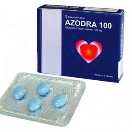 Thuốc cương dương nam Azora 100 mg hàng hiệu